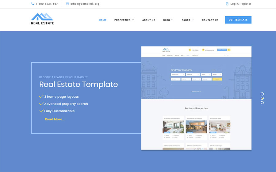 Real Estate Multipurpose HTML Template